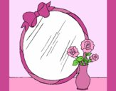 Coloring page Mirror painted byAnia