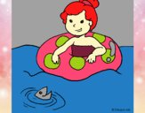 Coloring page Summer 5 painted byalexadra