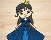 Coloring page A Little Princess painted bysamg