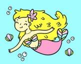 A Happy Mermaid