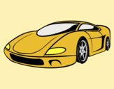 Coloring page Sport Car painted byAnia