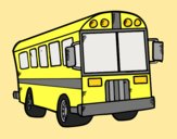 Coloring page School autobus painted byAnia
