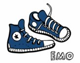 Coloring page Sneakers painted byKhaos006