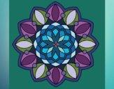 Coloring page Mandala 3 painted byMaHinkle