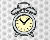 Coloring page Old alarm clock painted byAnia