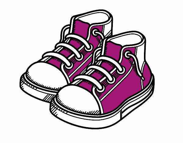 Coloring page Children slippers painted byKhaos006