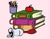 Coloring page School equipment painted bymicheleof4