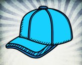 Coloring page Sport cap painted byAnia