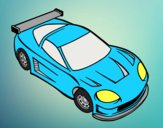 Coloring page Contemporary car painted byAnia