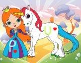 Unicorn and princess
