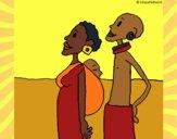 Family from Zambia
