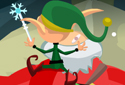 Santa tightrope