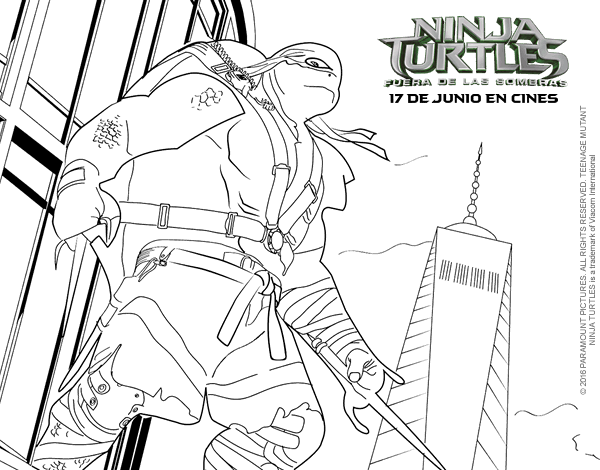 Tmnt Coloring Book Games Coloring